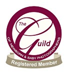 The Guild of Newborn and Baby Photographers Registered Member logo