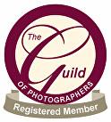 The Guild of Photographers Registered Member logo