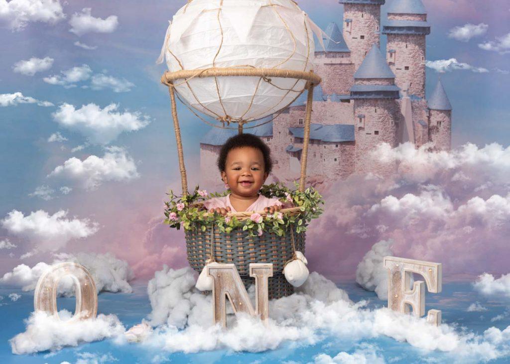 disney fairies first birthday photoshoot