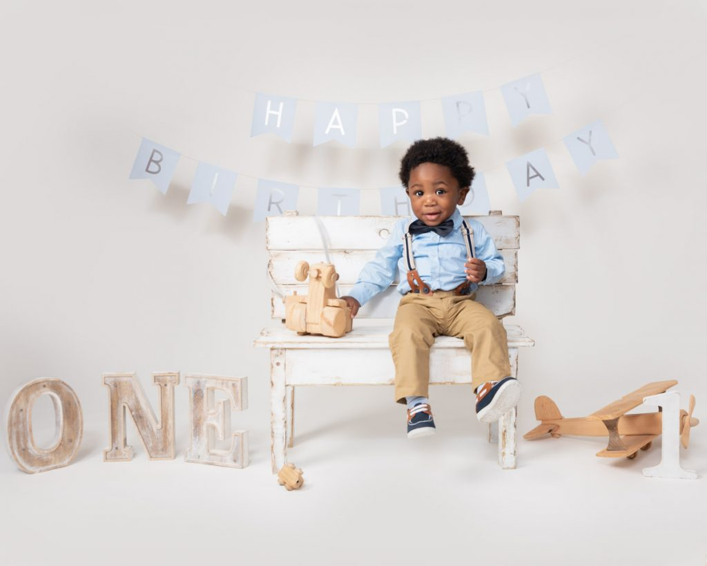Looking good in a smart suit baby photography
