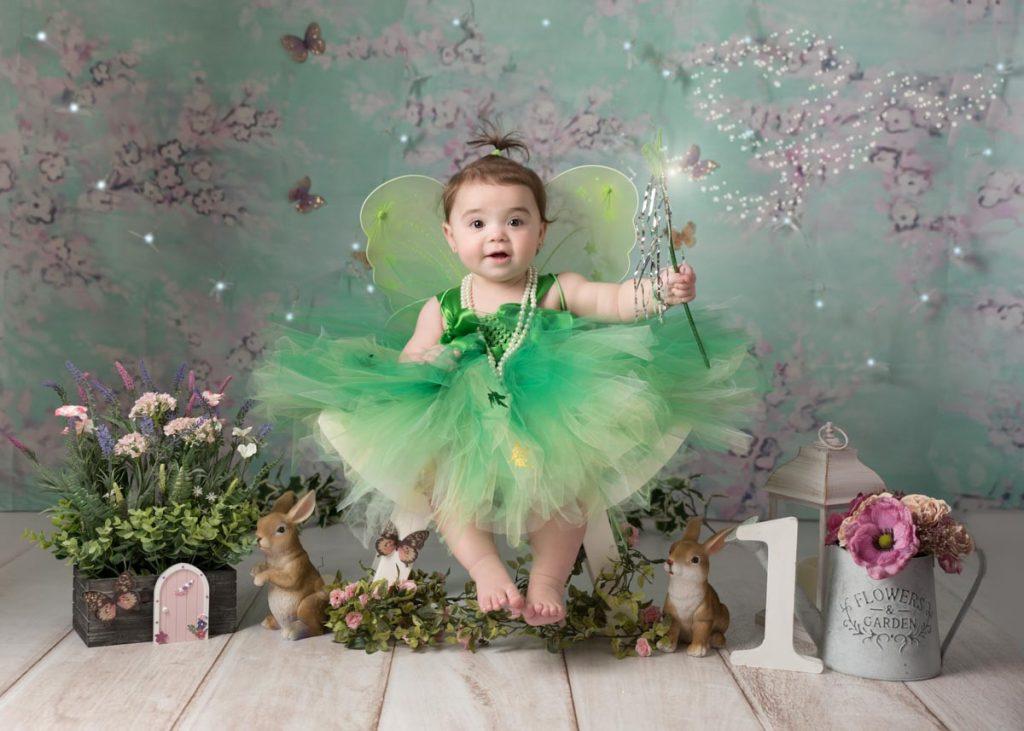 garden fairy with her wank baby photoshoot