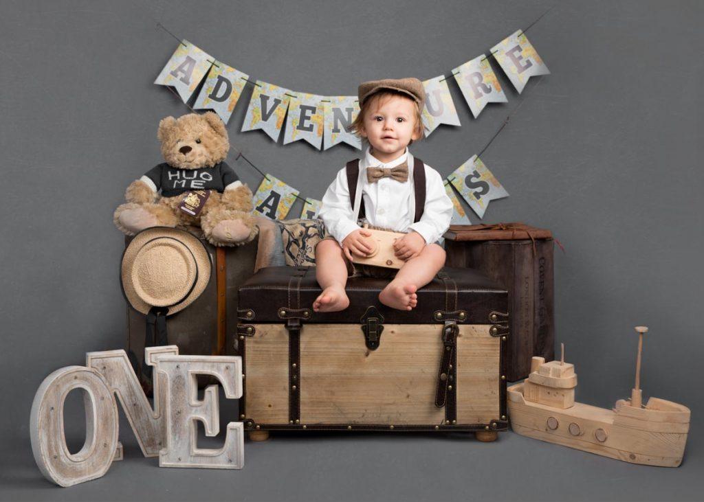 Little explorer first birthday photoshoot