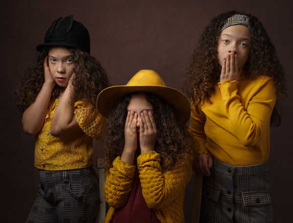 hear no evil see no evil girls