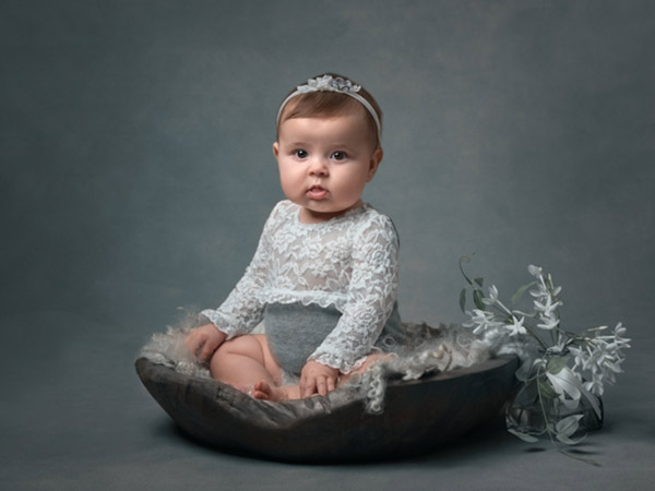 Silver sitter and older babies photography