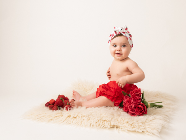 roses are red baby photoshoot