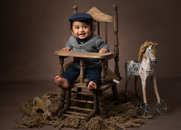 Baby photograph theme