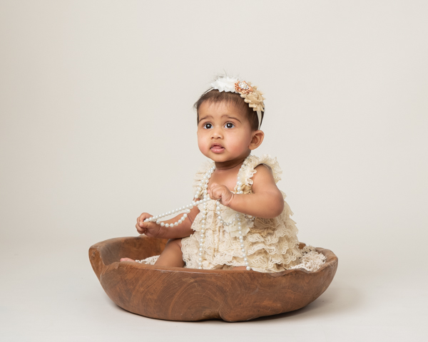 Baby photograph vintage style