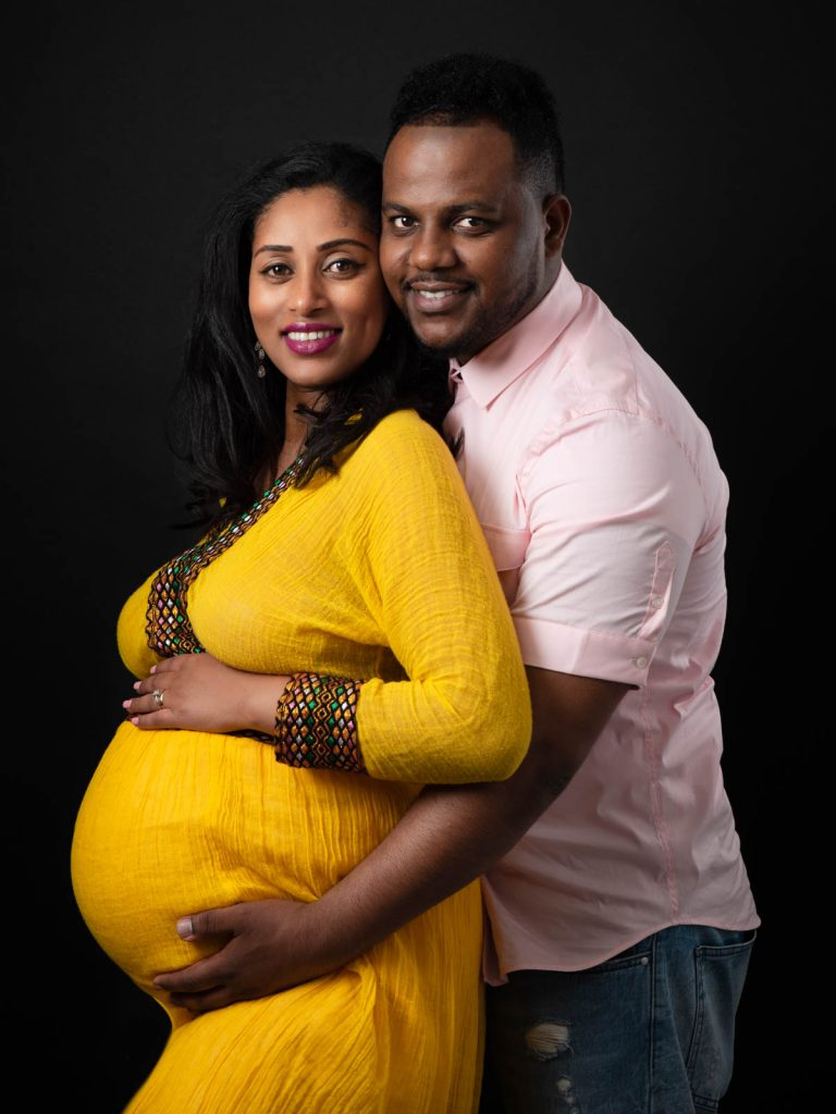 expecting mother and father maternity photoshoot