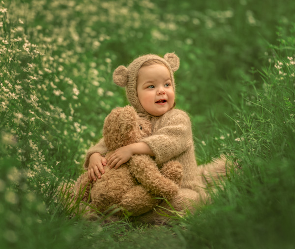 teddy bears' picnic photography session