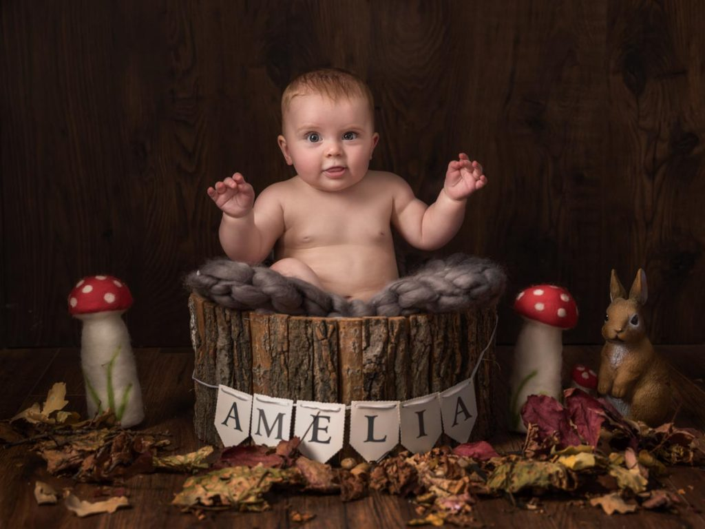 Amelia forest sitter session
