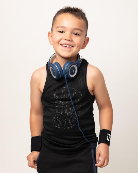 sporty child photo