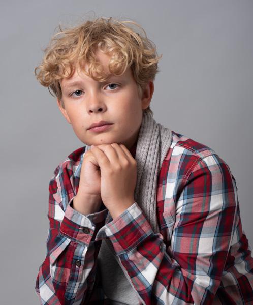 young boy photoshoot