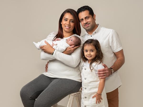 family photoshoot session