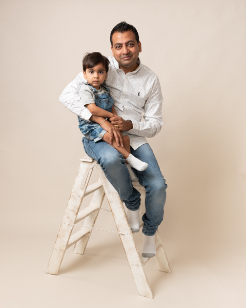 father and son photoshoot
