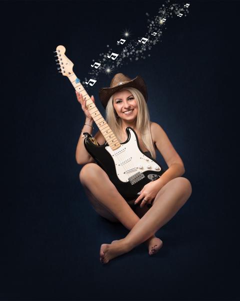 guitar musician photoshoot model photography